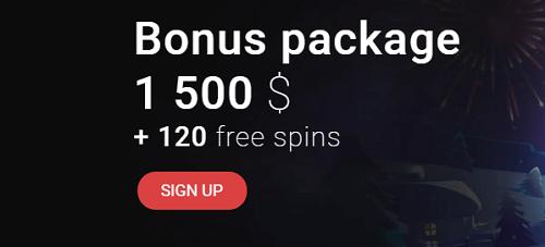 CasinoChan Welcome Bonus Package