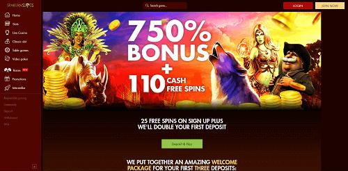 Spartan Slots Casino Review