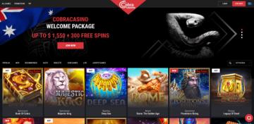 Cobra Casino Slot Games