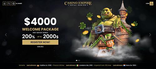 Casino Empire Review Australia 2021