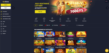 GetSlots Virtual Casino Games