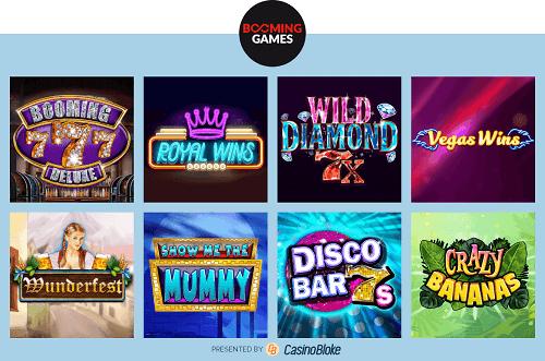 Top Booming Games Online Slots