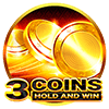 3 Coins Hold and Win Slot