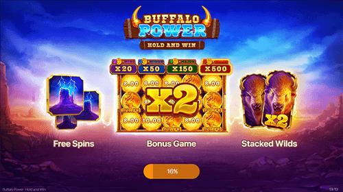 Buffalo Power: Hold and Win Jackpot