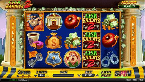 Cash Bandit 2 Game Symbols