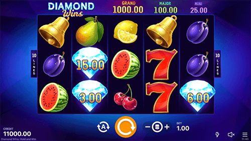 Diamond Wins: Hold and Win Features