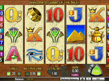 Queen of the Nile Slot Free Spins