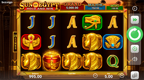 How to Play Sun of Egypt Hold and Win for Real Money